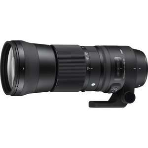 SIGMA 150-600 f5-6.3 DG OS HSM Contemporary - Free UV Filter worth £79.90 during July @ Castle cameras