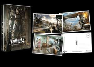 Fallout 4 w/ Steelbook+Postcards £9.99 New XBONE @ Game