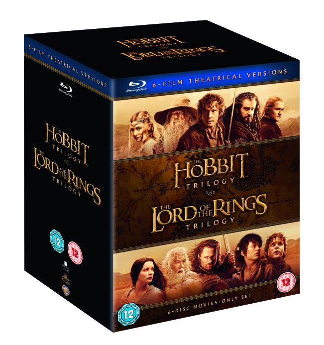 The Hobbit Trilogy & LOTR Trilogy Middle Earth Collection Blu Ray £22.99 @ Zavvi