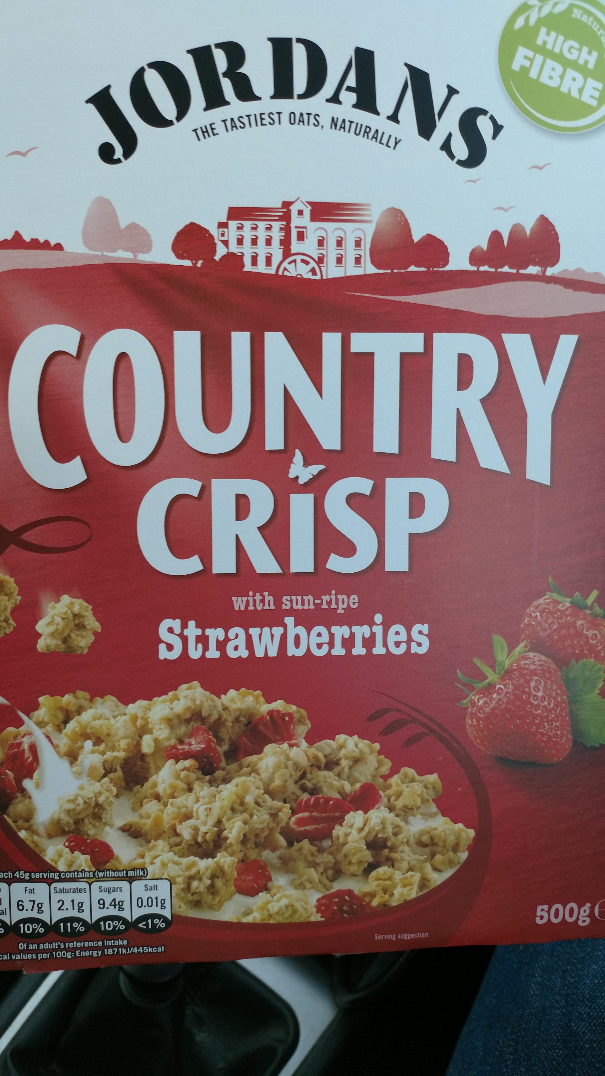 Jordans country crisp all flavour  £1.50 at Morrisons