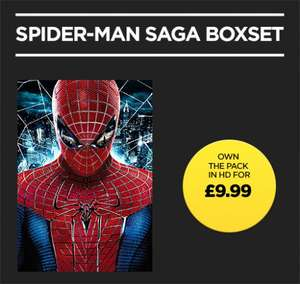 Rakuten TV (previously Wuaki) - 5 Spider-Man films to own in HD for £9.99