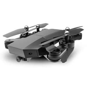 VISUO XS809HW 2.4G Foldable RC Quadcopter Wifi FPV Selfie Drone - RTF with discount code total £31.15 @ Tomtop