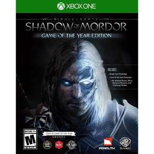 Middle-Earth Shadow of Mordor - GOTY Edition Xbox One £4.80 @ Microsoft Store