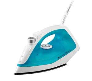 ESSENTIALS C12IR13 Steam Iron - Blue & White £3.98 delivered or c+c @ Currys