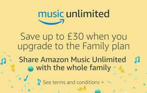 Amazon Music Unlimited family plan free for 2 months