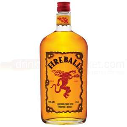 Fireball Cinnamon Whisky Liqueur, 70 cl - £12 Amazon deal of the day - lightning deal