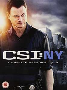 CSI New York complete seasons 1-9 and CSI Miami complete seasons 1-10 DVD boxsets - 2 for £10 at Amazon! (usually £65 and £75 each)