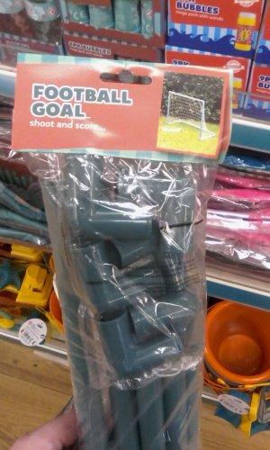 Football goal £1 @ Poundland!!!