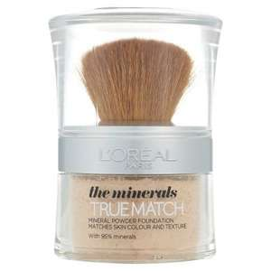 L'Oreal Paris True Match Minerals Foundation - offers stacking at Superdrug
