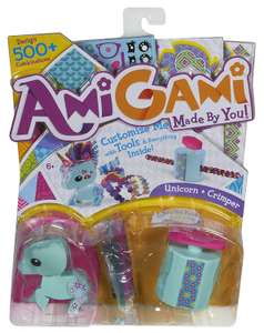 Amigami unicorn, £11.99 on amazon, £1 in poundworld.