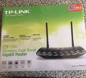 TP-Link AC750 Dual Band Router - Tesco instore £12.50 - National Deal
