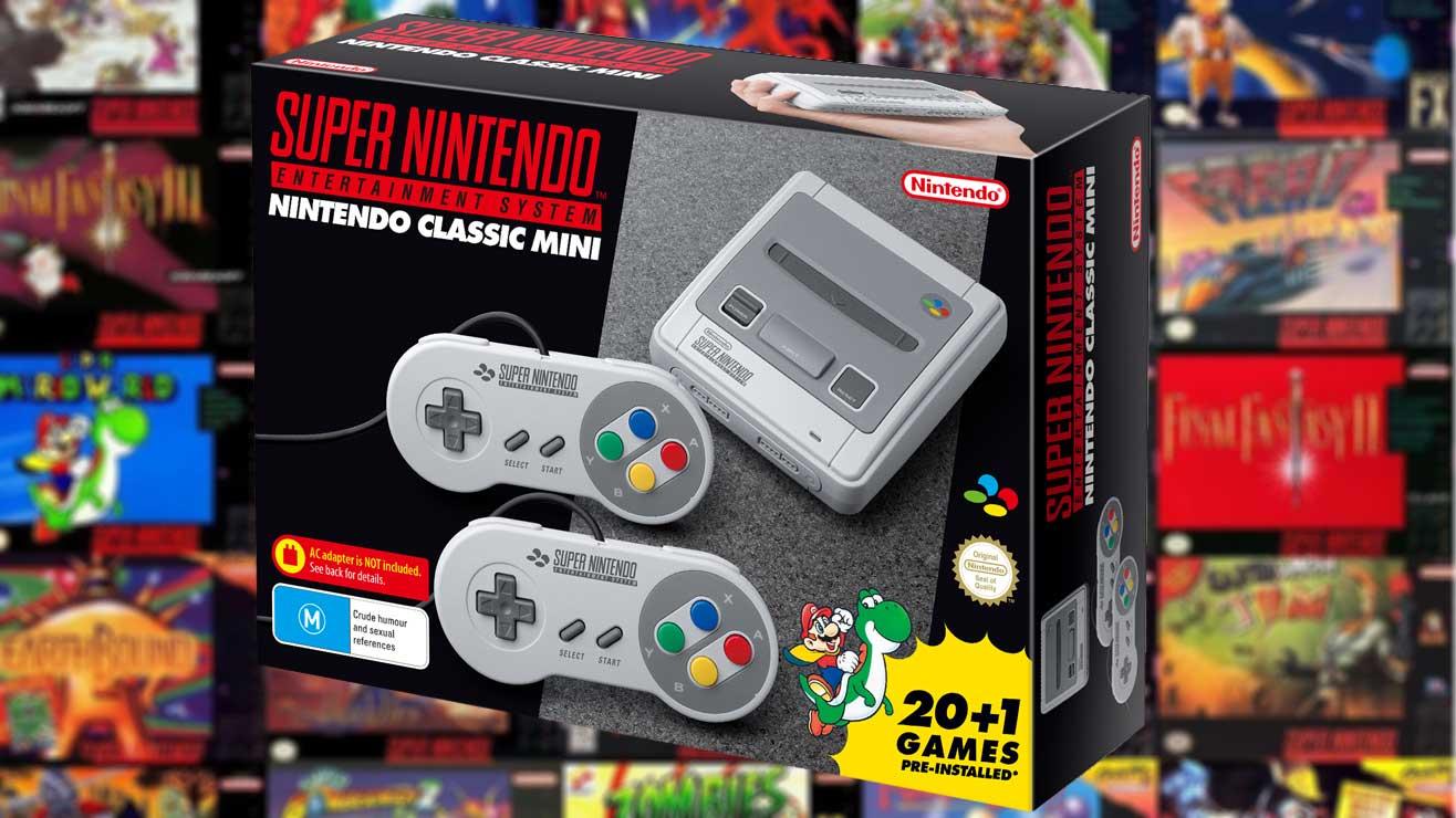 Nintendo SNES preorder £79.99 @ Game Westfield Stratford
