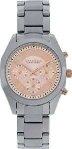 CARAVELLE NY LADIES MELISSA BLUSH CHRONOGRAPH WATCH £12.99 ARGOS EBAY
