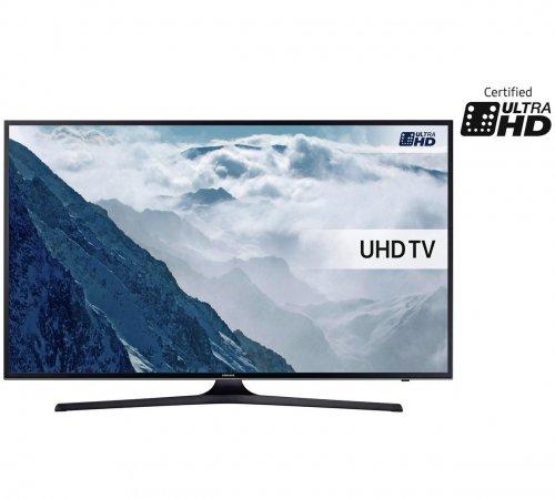 """Samsung UE50KU6000 50"""" 4K HDR Smart LED TV  £449.00 Argos"""