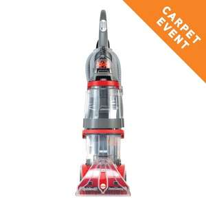 Vax Dual V Carpet Cleaner - V-124A £139.99 (potentially £129.99 OR 2 free 1.5l bottles of detergent) @ VAX