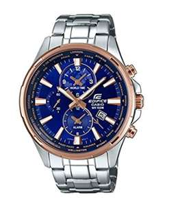 Men's Casio Edifice Watch EFR-304PG-2AVUEF + 2 Years Warranty £75 @ Amazon