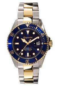 Gigandet Sea Ground Automatic Men's Analogue Diver Watch Blue Gold £114.66 Delivered Sold by MTRSHOP24 and Fulfilled by Amazon