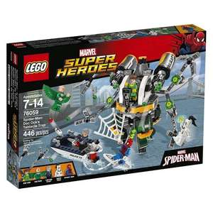 LEGO 76059 Super Heroes Spider-Man Doc Ock's Tentacle Trap £25 @Amazon (Prime Members Only)