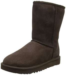 Womens Chocolate Classic Short UGG Australia Boots Size 6.5 £62.69 delivered at Amazon