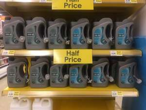 2L Motor Oil 10W-40 (Part Synth) 5W-30 (Fully Synth) Half Price £6 @ Tesco