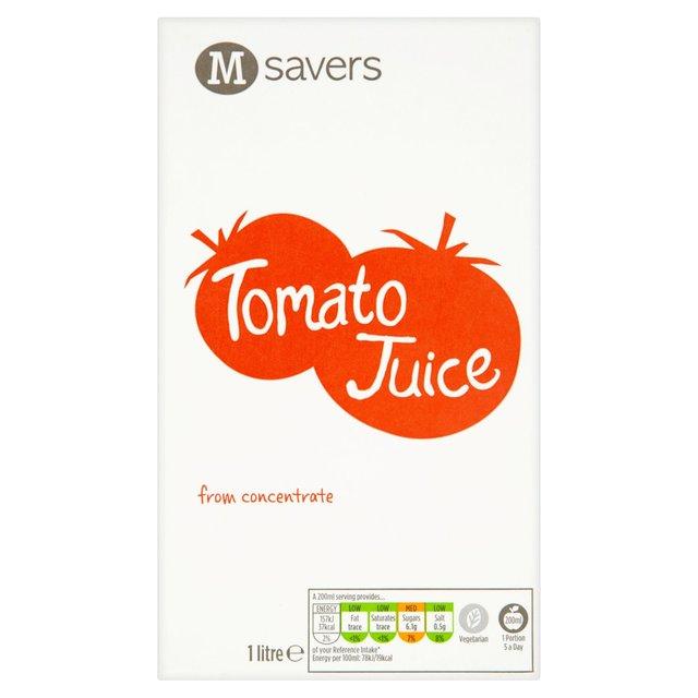 Morrisons Savers Tomato Juice 1L £0.65