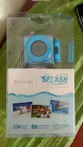 Kitvision Splash Action Camera black and blue £4 in Asda