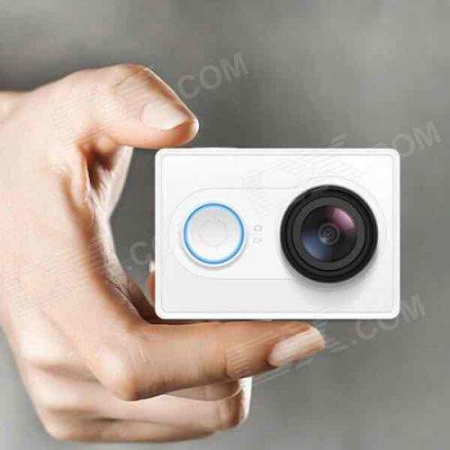 Xiaomi Yi 1080P 16MP Sports Camera Camcorder w/ Wi-Fi, BT - White £49.99 @ Deal extreme