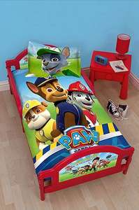 Paw Patrol / Thomas / Peppa Pig Toddler Bed Frames were £90 now £54 (Free C+C, otherwise £3 Del) @ Tesco Direct