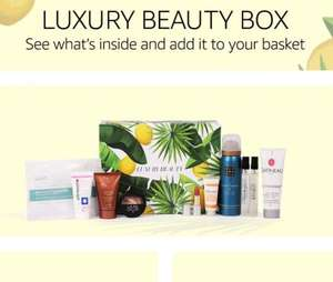 Free Luxury Beauty Box when you spend £50 in Beauty sold & dispatched by Amazon