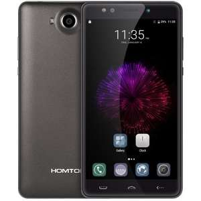 HOMTOM HT10 4G Phablet  -  BLACK 176280602 5.5 inch Iris Recognition Android 6.0 MTK6797 ( Helio X20 ) Deca Core 4GB RAM 32GB ROM 21MP + 8MP Cameras FHD Screen OTA