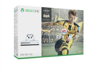 Xbox One S Console 500GB with FIFA 17 & Gears of War 4 - £169.85 - Shopto