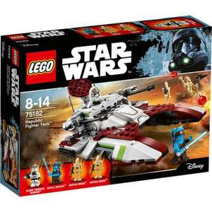 LEGO Star Wars Republic Fighter Tank 75182 - £15.83 delivered at Jadlam