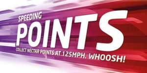 Collect 1,000 Nectar bonus points on the Virgin Trains seat sale