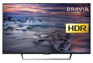 Sony Bravia KDL43WE753 (43-Inch) Premium Full HD HDR TV (X-Reality PRO, Triluminos Display) - Black (2017 Model) [Energy Class a_plus] DEAL OF THE DAY £479.00 @ amazon