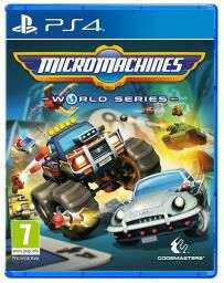 Micro Machines PS4 £14.99 pre owned @ Grainger Games