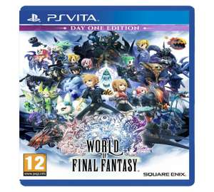 world of final fantasy day one edition - ps4/vita £15.99 - argos