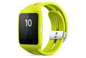 Sony Mobile SWR50 SmartWatch 3 Fitness and Activity Tracker Wrist Watch - Lime Green £89.90 @ Sold by majestic deals and Fulfilled by Amazon