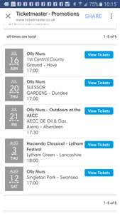 2 for 1 olly murs tickets today only at ticketmaster