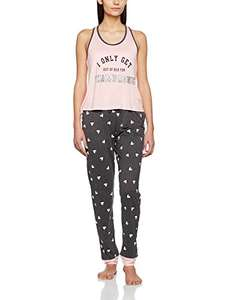 New Look Women's Champagne Pyjama Set (Small & Large) £7.94 + £3.99 delivery @  Amazon
