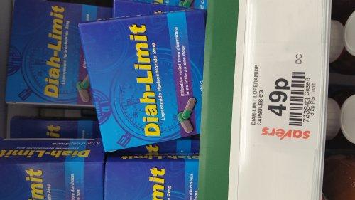 Diah limit diarrhoea Hard capsules 49p @ Savers