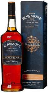 Bowmore Black Rock 1L Single Malt Scotch Whisky - £36.45 @ Amazon