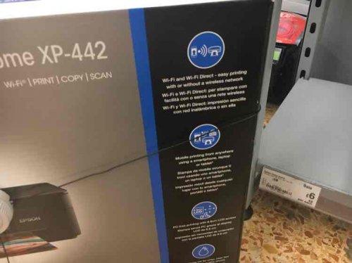 EPSON XP-442 PRINTER £6 ASDA instore