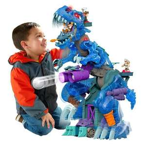 Imaginext Ultra T-Rex was £149.99 now £59.99 delivered with code & Rosebud country dolls house was £100 now £40 delivered @ ELC