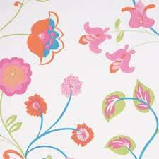 Wallpaper  summer garden floral £1.00 b&q