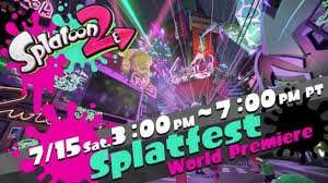 [Switch] Splatoon 2 Splatfest Demo