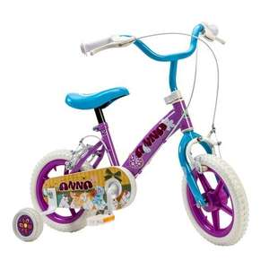 Girls 12 inch bike with training wheels now £24.99 with code and free delivery @ Smyths