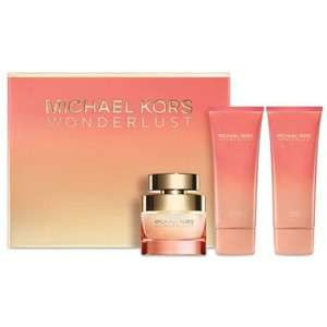 Michael Kors Wonderlust 50ml gift set with free MK gold clutch bag was £63 now £40 delivered with code @ The Fragrance Shop