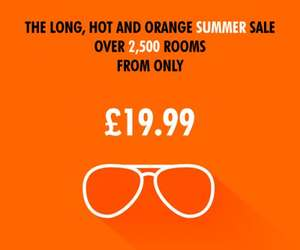 Easy hotel summer sale stay until 10 September many rooms are £19.99 plus booking fee including Victoria central London