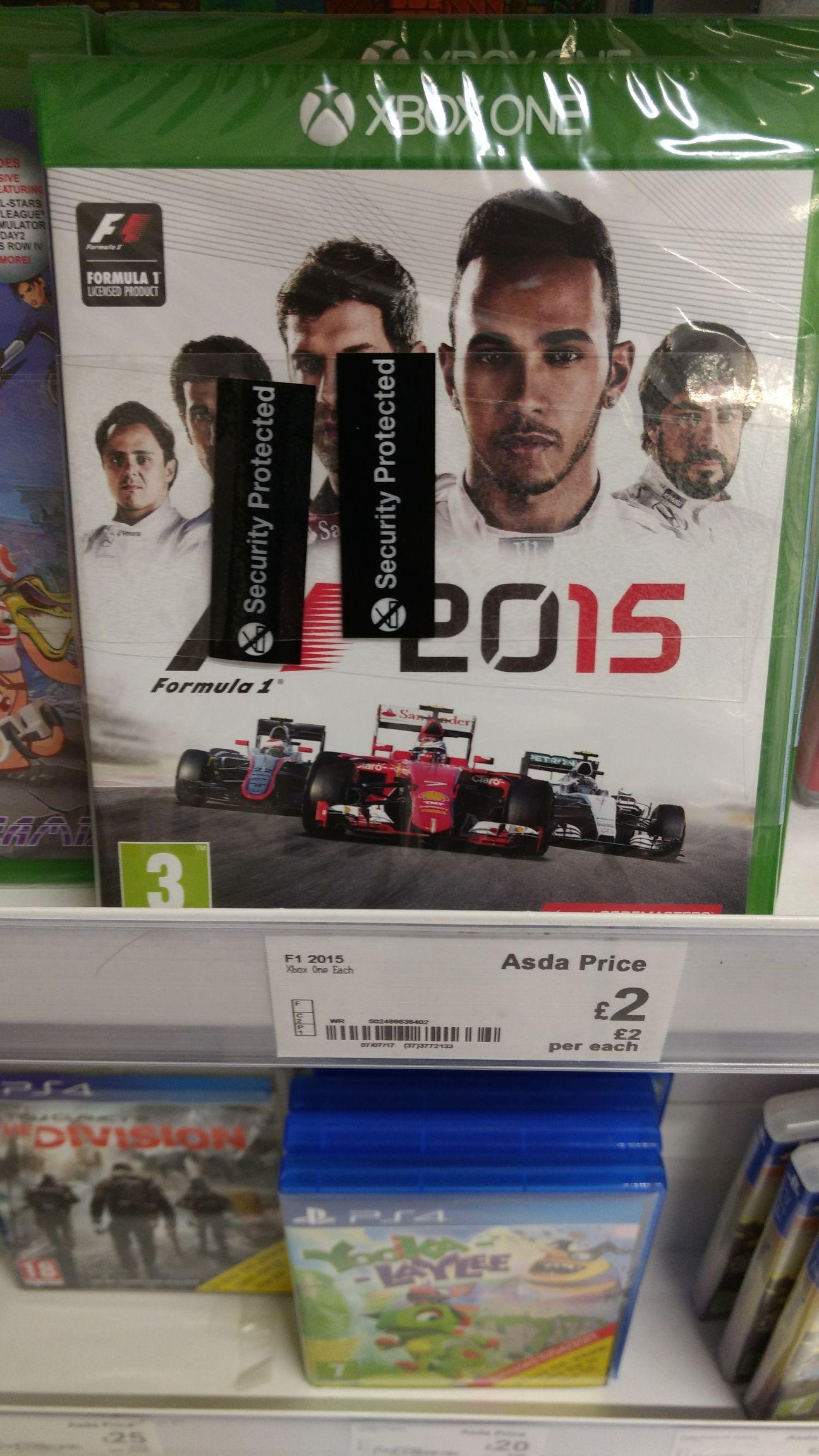 F1 2015 [Xbox One] £2 instore @ ASDA