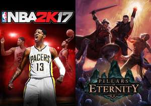 [Steam] NBA 2K17 & Pillars of Eternity part of August Humble Monthly - £9.31 (HumbleBundle)